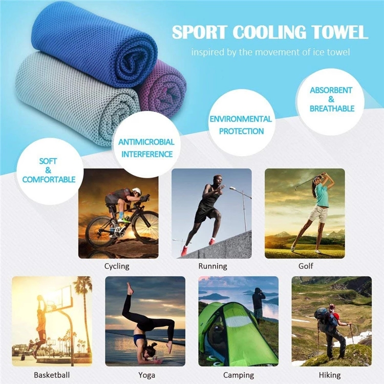 where to use cooling towel