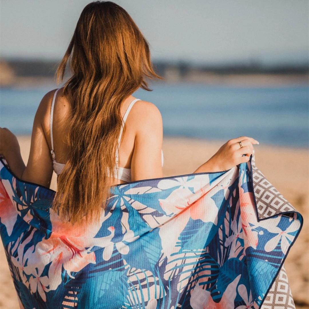 sand free beach towel manufacturer